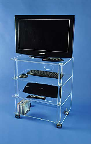 meuble tv hifi plexi. Black Bedroom Furniture Sets. Home Design Ideas