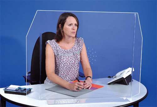 Ecrans et séparateurs de bureaux